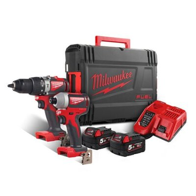 AKU set náradia Milwaukee M18 BLPP2A2-502X